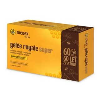 Gelee royale super matična mliječ 500 mg Medex
