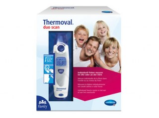 Thermoval® duo scan toplomjer uho/čelo
