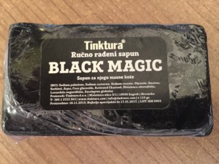 Tinktura® Black Magic sapun 110 g