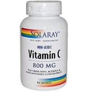 Solaray Vitamin C 800 mg 90 caps.