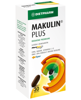 Makulin Plus 30 caps. Dietpharm