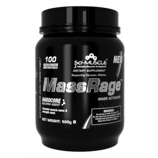 Sci-Muscle MassRage 250 g