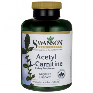 Swanson Acetyl L-Carnitine 500 mg