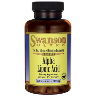 Swanson Alpha lipoic Acid 300 mg 120 caps.