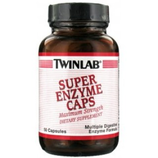 Twinlab Super Enzyme 50 caps.