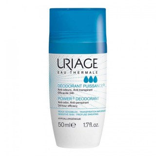 Uriage Deodorant Tri-Actif roll-on 50 ml